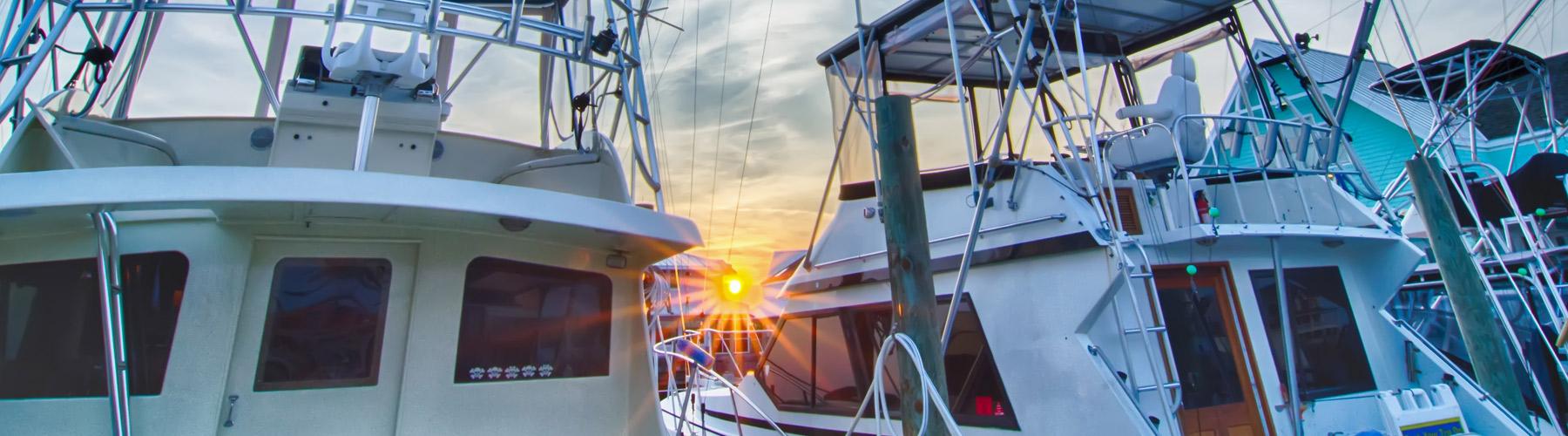 Myrtle Beach Fishing Boats
